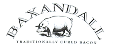 Baxandall traditional dry cure bacon logo