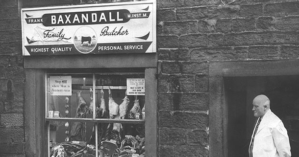 original Baxandall butcher shop